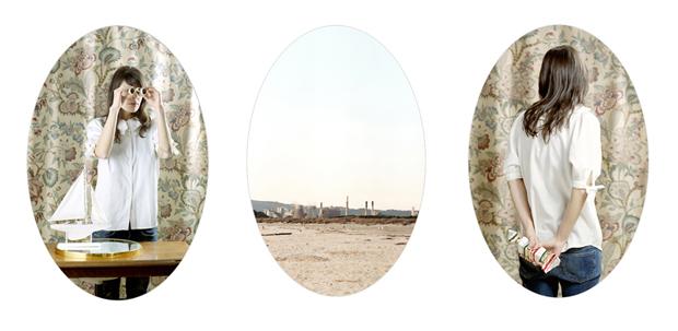 """""""Sottovetro#4"""", trittico, 2011, stampa inkjet montata su alluminio"""