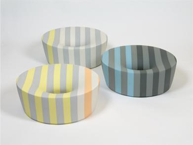 Tomoko-Sakumoto-(Giappone),-'Form-101-Form-7',-porcellana,-cm-13,5x35-[Premio-Cersaie]-