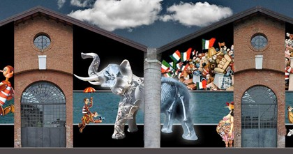 """""""La Bugia anche gli elefanti hanno il naso lungo"""", iniziativa Speciale del Padiglione Italia, 54.Esposizione Internazionale d'Arte - La Biennale di Venezia"""