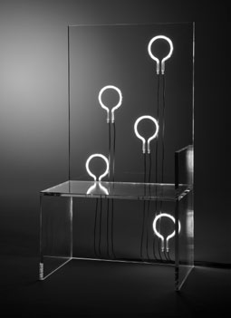 "Kartell&BobWilson, ""7 ELECTRIC CHAIRS... AS YOU LIKE IT"""