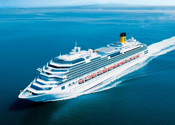 Costa Favolosa, la nuova ammiraglia di Costa Crociere