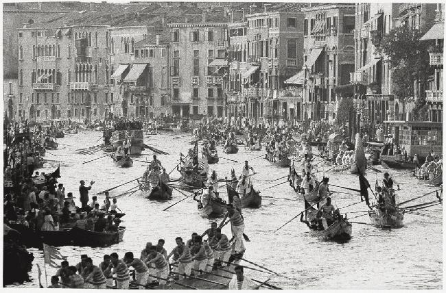 """""""Venezia 1958 - Regata storica"""", 2009, cm 30x40"""