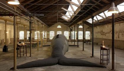 Connecting Cultures, Claudia Losi, Les Funerailles de la Baleine, 10.00 am | 11.00 am, 2010, foto di D. Lasagni