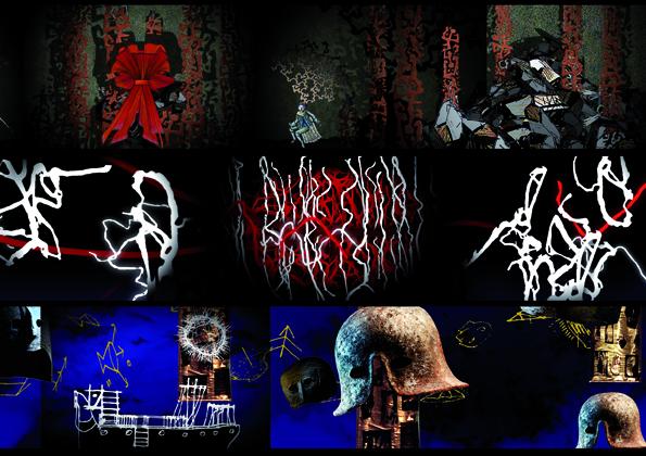 Frame video dalla galleria multimediale del Memus, curata da Studio Azzurro ©Studio Azzurro