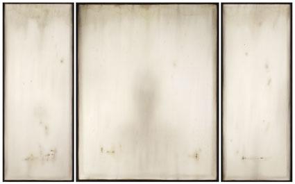 """Vincitore Premio Ciaccio Broker, Ettore Frani, """"Imago III"""", 2011, olio su tavola, 100x164 cm"""