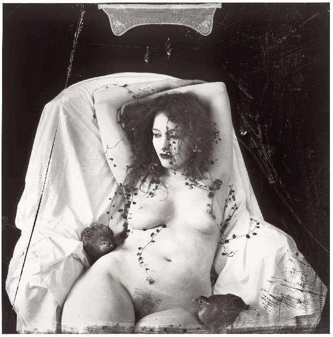 """Joel Peter Witkin, """"White on white"""", Tirage argentique, cm82x78, ed. 1/12, 2009"""