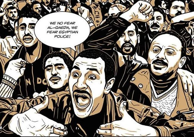 Pino Creanza, Cairo Blues - Komikazen 2011