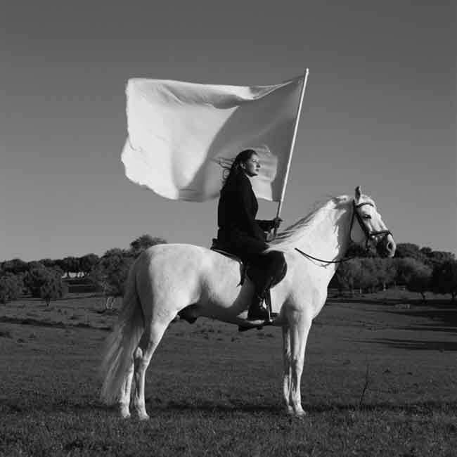 "Marina Abramovic, ""Rythm 10"", 1973-97, Cibachrome, 154x129 cm. Edition of 5. Courtesy Lia Rumma Gallery Naples/Milan"