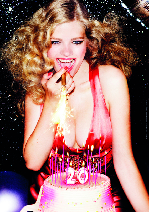 Cover Calendario LAvazza 2012 - Ellen von Unwerth