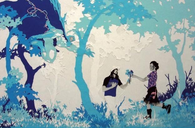 Andrea Mastrovito, Se qualcuno ruba un fiore per te, sotto sotto è un ladro, Zoom Festival 2011