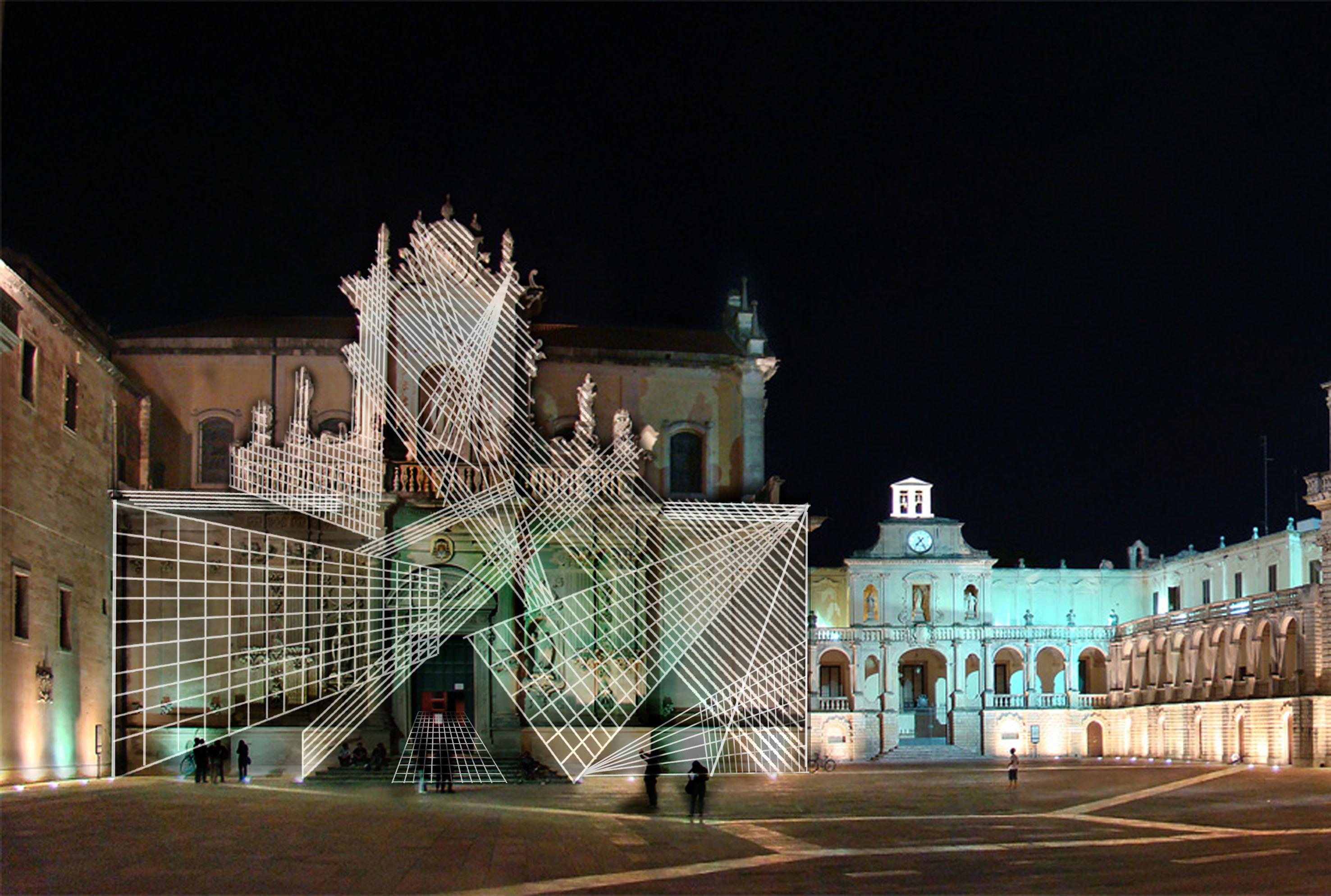 Giancarlo Cauteruccio, Lux, Piazza Duomo, Lecce