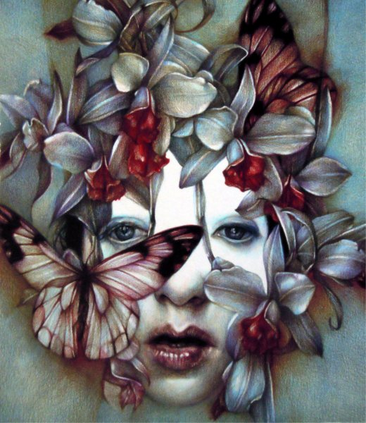 Marco Mazzoni, Dear Catastrophe, 2011, matite colorate su carta, cm 30x26