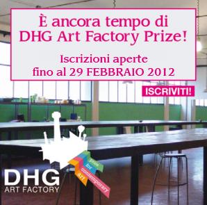 DHG - ART FACTORY PRIZE - proroga bando
