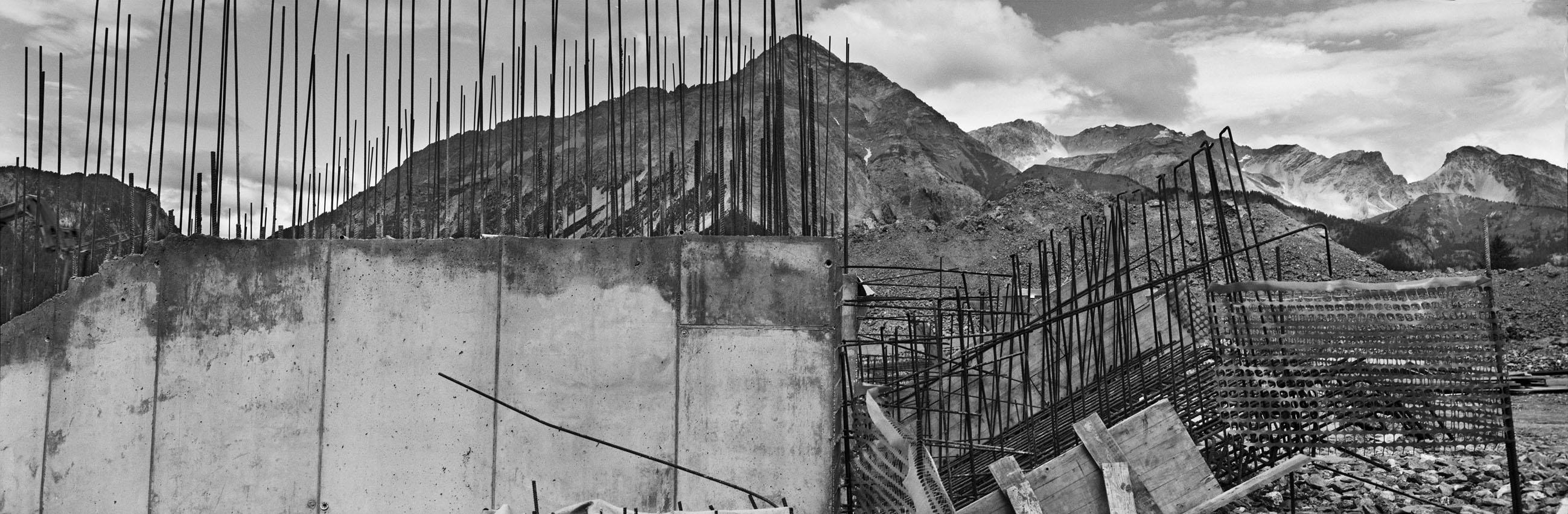 Josef Koudelka, ITALY. Piedmont. Province of Turin. Sansicario. 2004. Site of the Olympic Games.  © Josef Koudelka/Magnum Photos