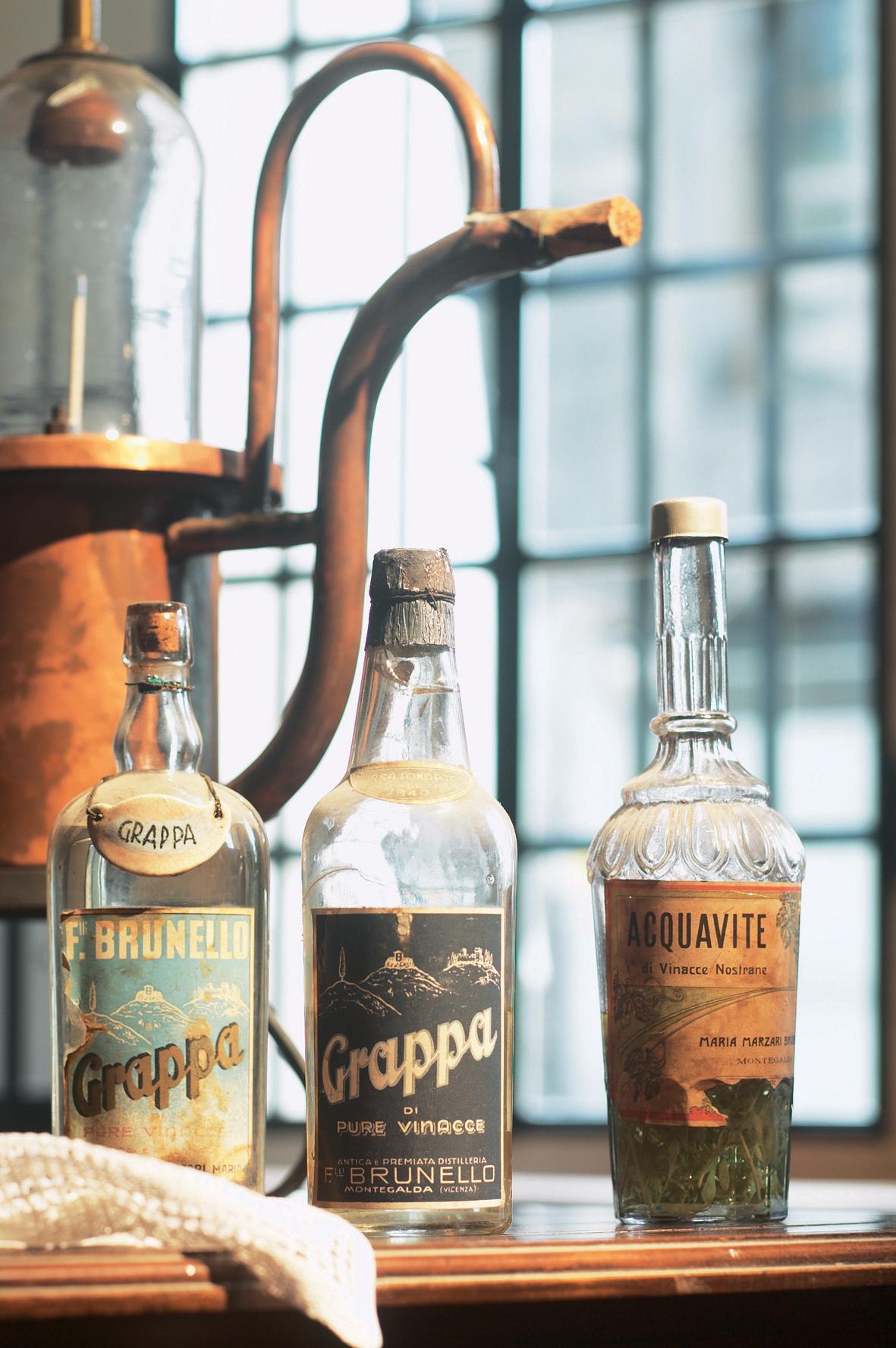 Fratelli Brunello, bottiglie storiche