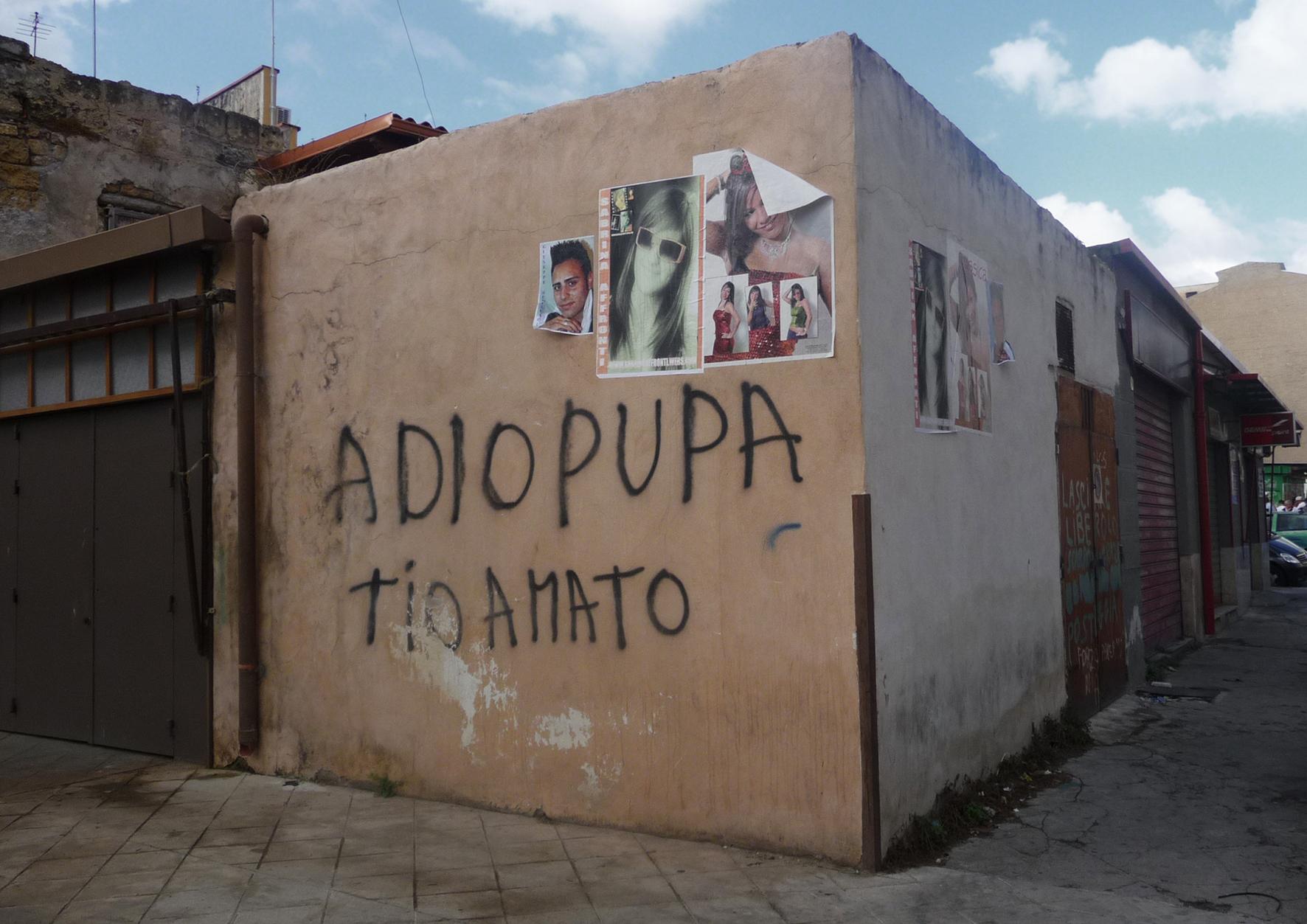 Stefania Galegati Shines, Adio Pupa, 2011, print on paper, 30 x 40 cm