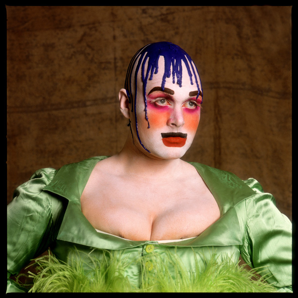 About Leigh Bowery - Photo Fergus Greer
