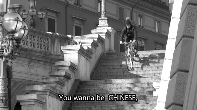 I wanna be chinese / Dinghi – E. bicycles from China, Courtesy galleria Kooio, Innsbruck