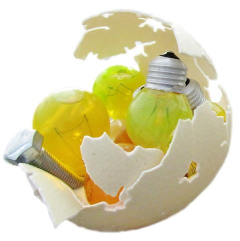 Andrea Pi8, Pulito splendente#4, lampadine, acqua, sapone, cm20x10x10, 2012