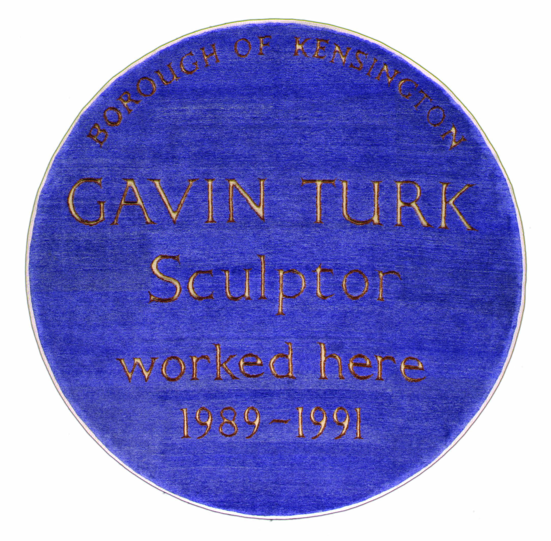 The Cave Rug by Gavin Turk per Chris Farr