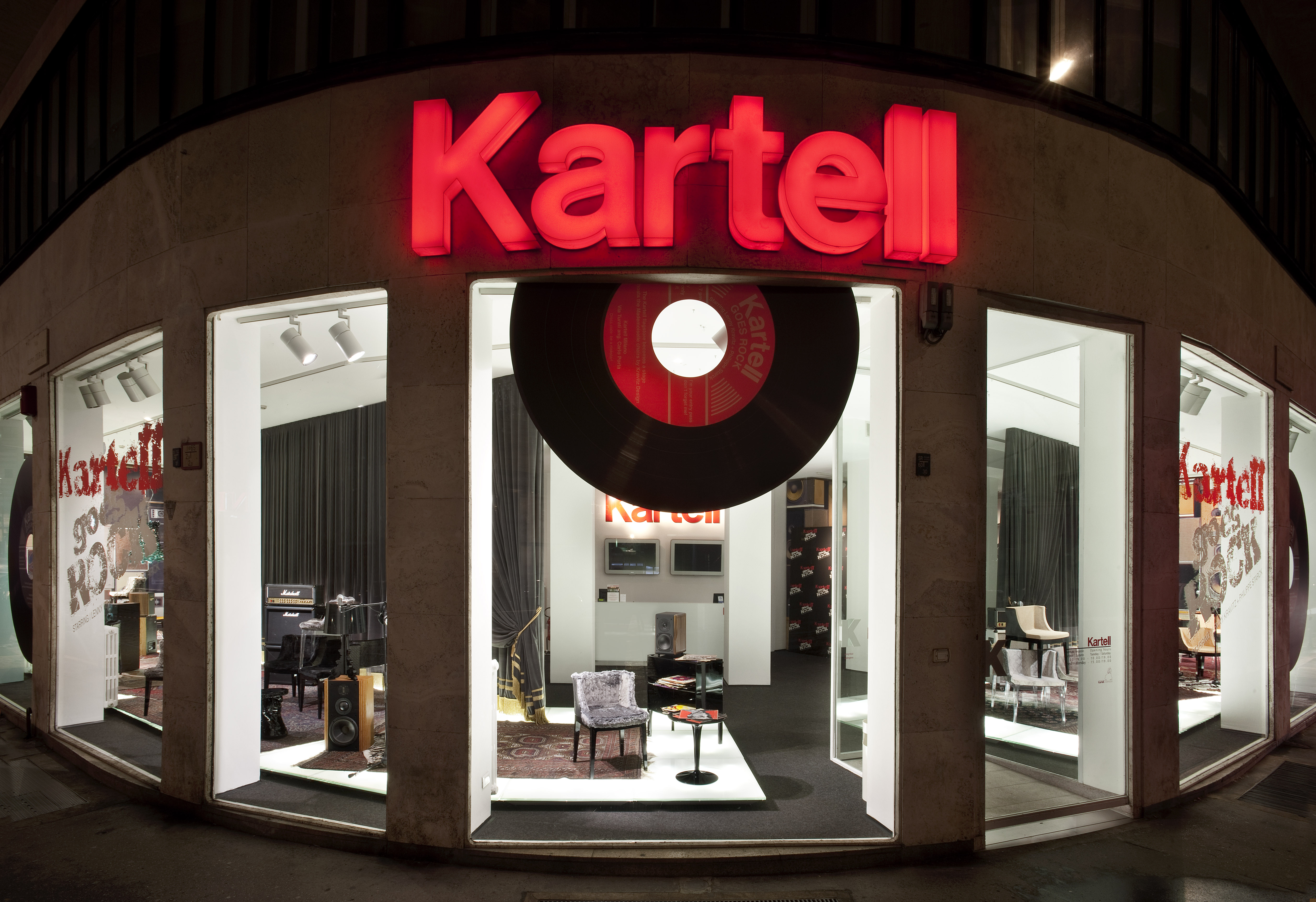 Kartell goes rock! con Lenny Kravitz e Philippe Starck – Espoarte
