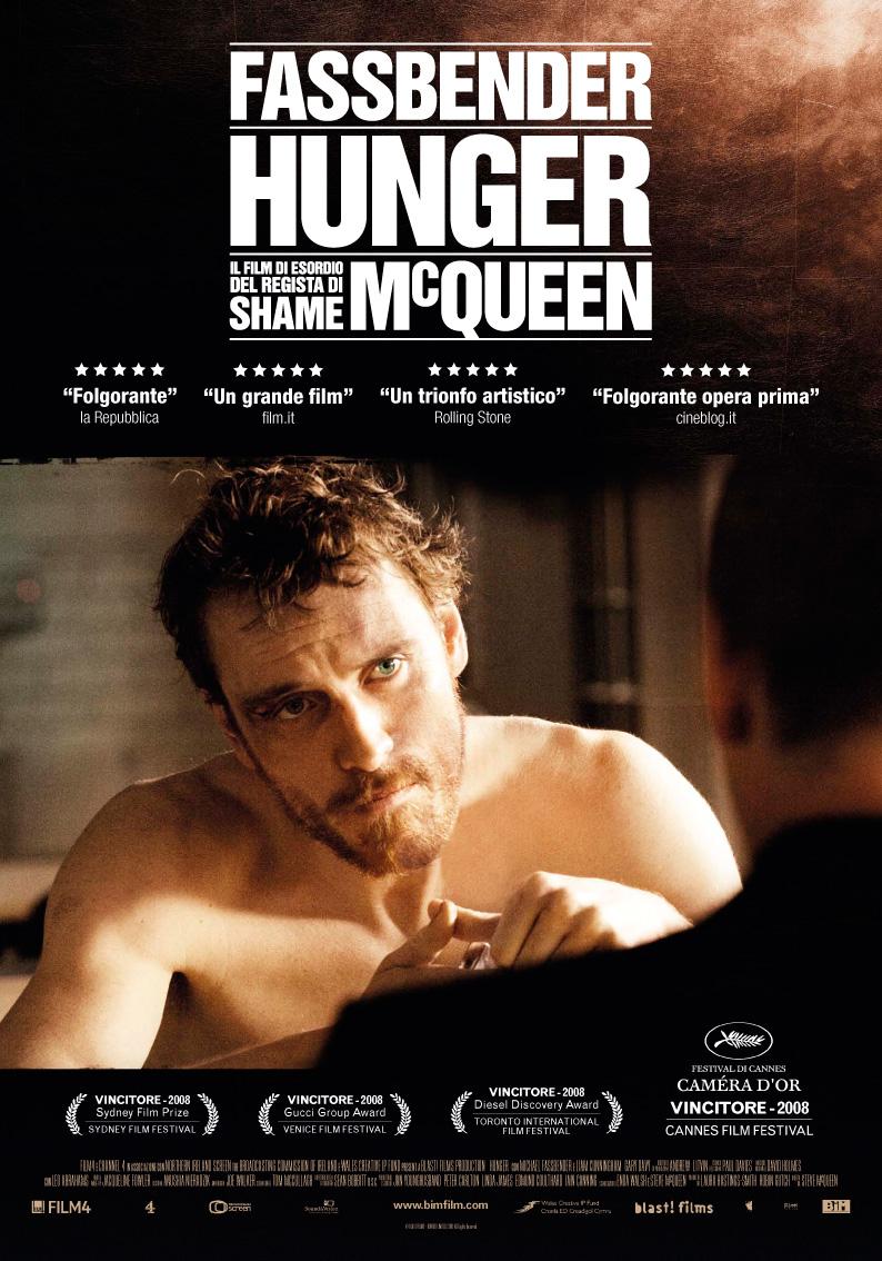 Locandina, Hunger di Steve McQueen