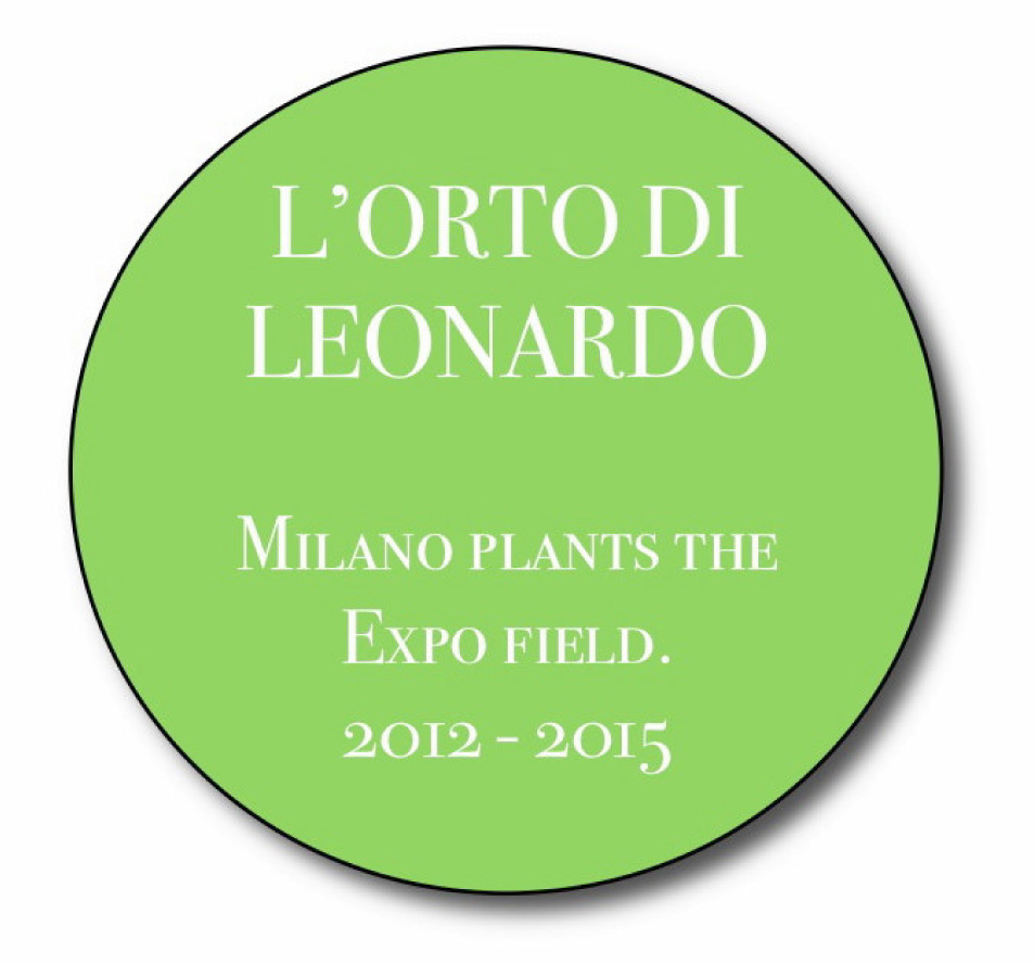Milano Plants the Expo field. Orto di Leonardo