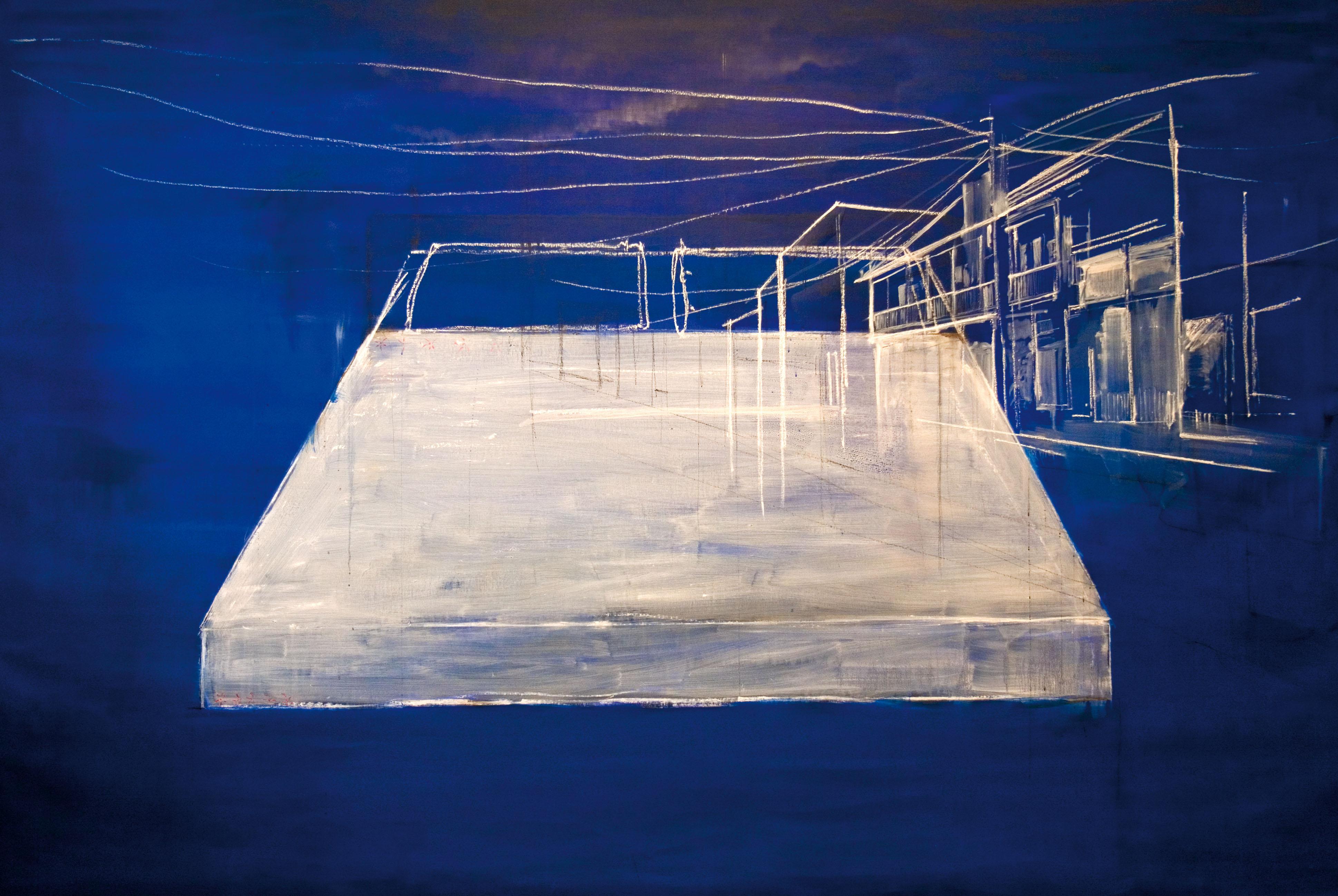 VERONICA BOTTICELLI, Sono tutto quello che vedo,2012 tecnica mista 200x300 cm