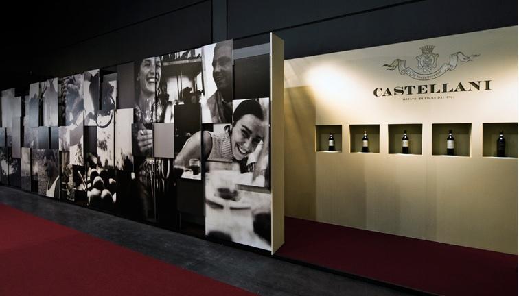 Gumdesign per Castellani, Allestimento Vinitaly, Verona 2012
