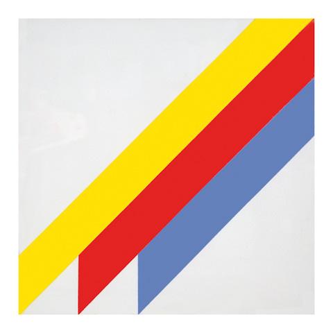 Winfred Gaul, Senza titolo, 1971, acrilico su tela, 50x50 cm