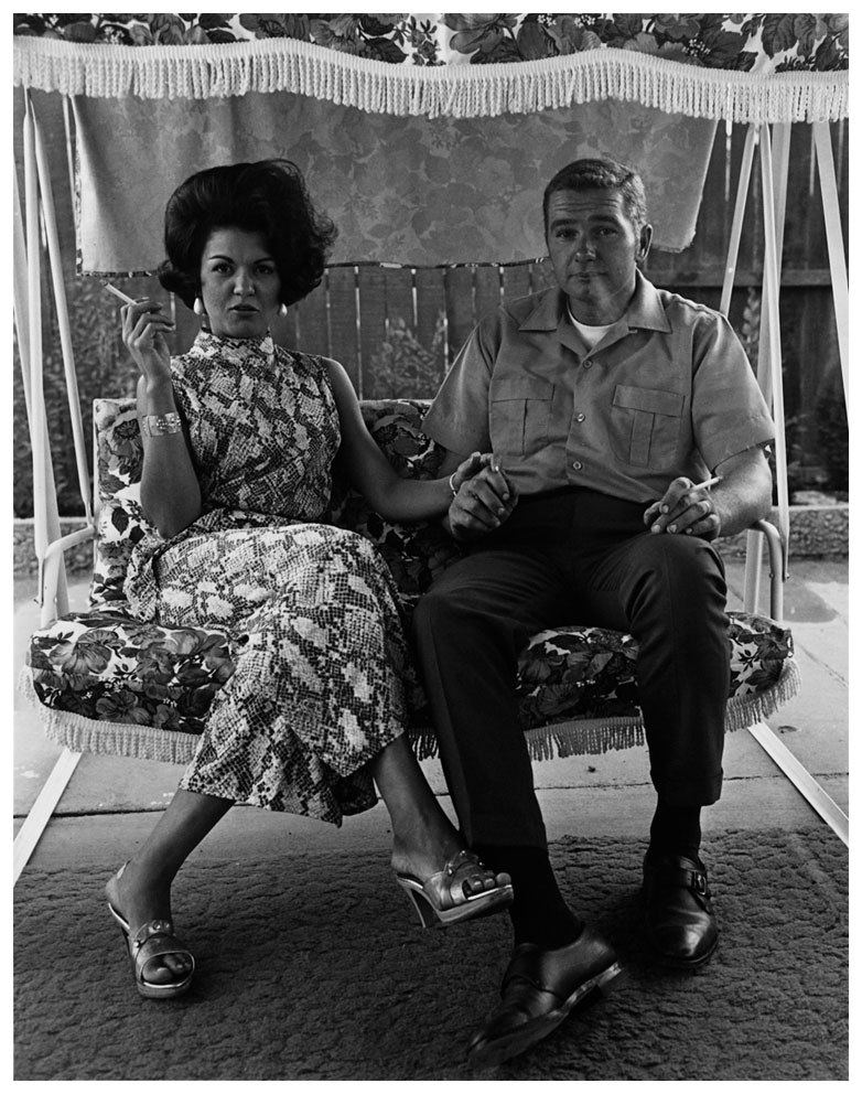 Bill Owens, Cleo and James Pruden, 1972