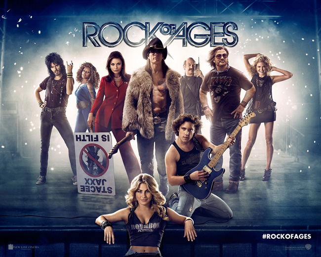 rock of ages - warner bros