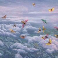 Fang Lijun 2006.7.1, 2006 olio su tela/oil on canvas, cm 139×180. © Fritz Kaiser Foundation | www.88-mocca.org