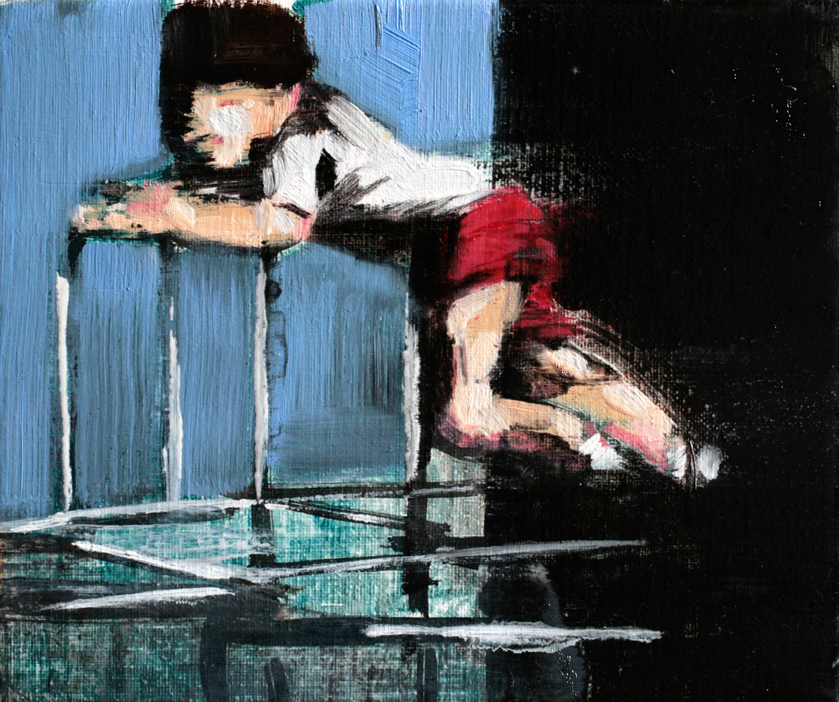 to the top, 2012, cm 30x25