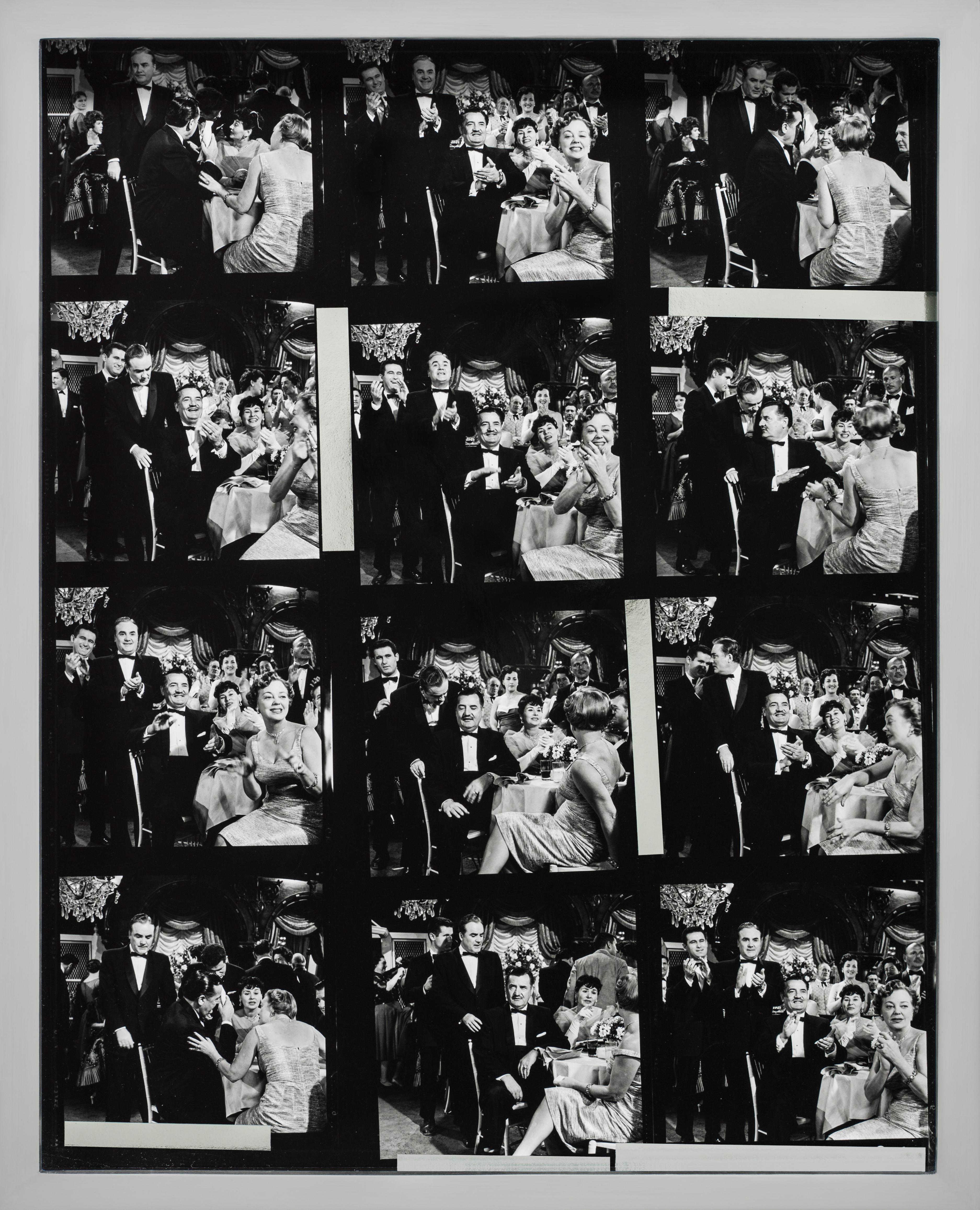 Elad Lassry, Portrait (Gala), 2012  stampa alla gelatina d'argento, cornice in alluminio, cm 26x20,9x3,8, opera unica. Courtesy Massimo De Carlo