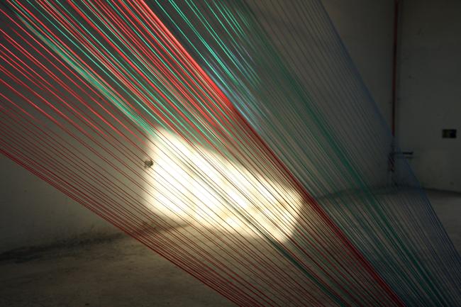 """Baastian Aler, edizione 2011, """"Pure information"""", 2011, iinstallazione multidisciplinare. Courtesy: Asilo Bianco"""