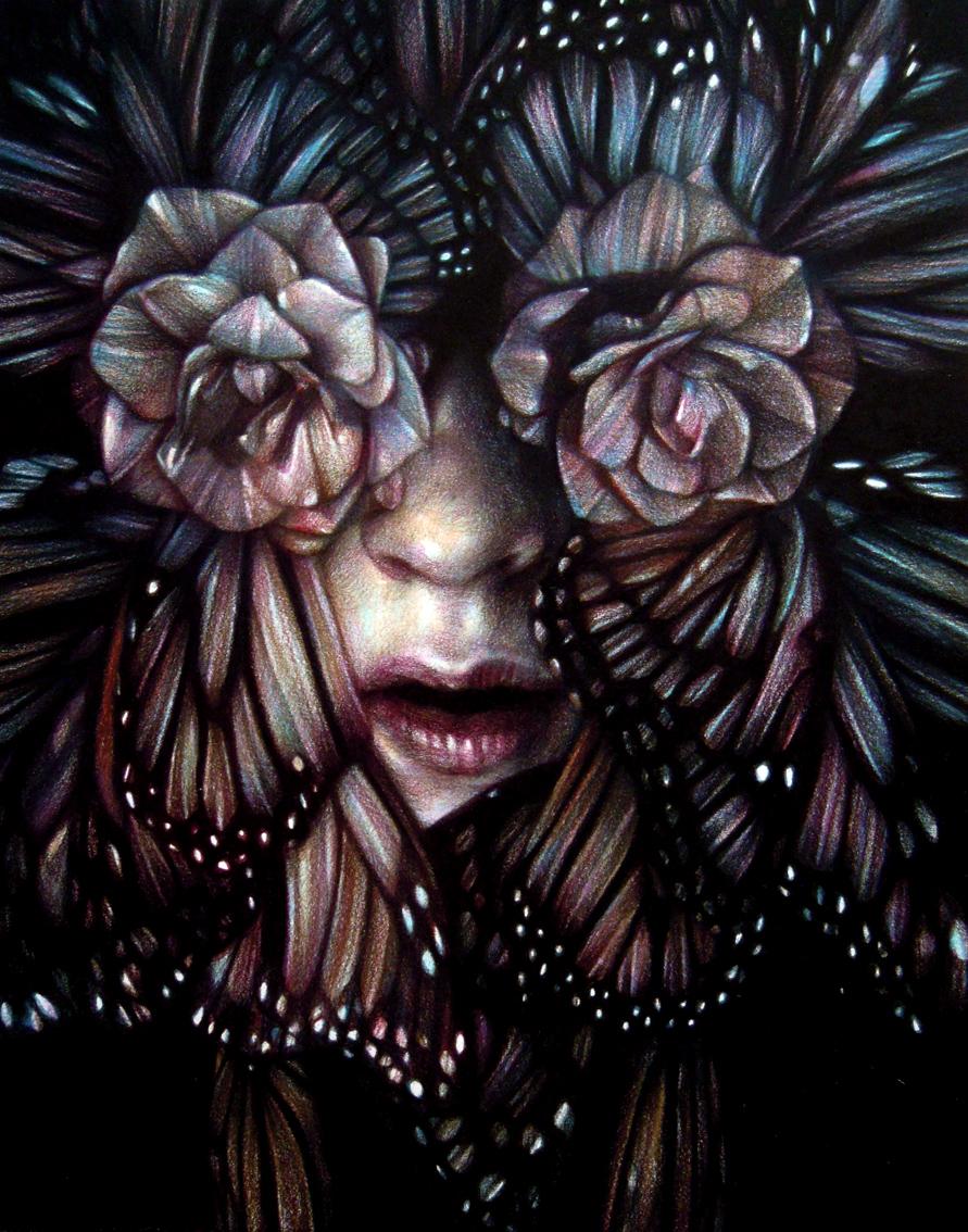 MM_Love is paranoid_2012_matite col carta_28x22cm