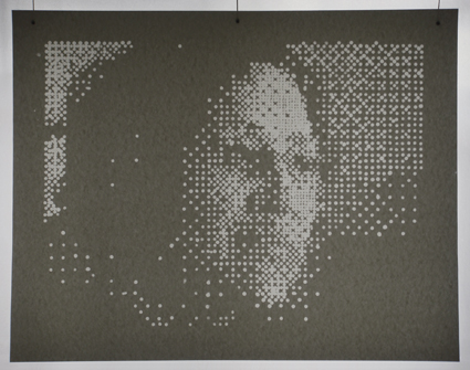 Margot Quan Knight, Screen shot 2011-05-09 at 12.48.31 PM (Bing, Linda, Kate), 2011 acrilico su tela 121.9 x 91.4 cm Courtesy Gagliardi Art System, Torino