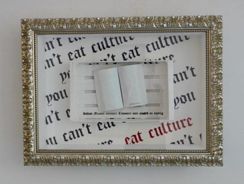 Opiemme, You can't eat culture, 2012