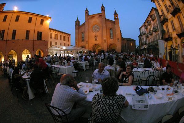 Piazza Duomo allestita