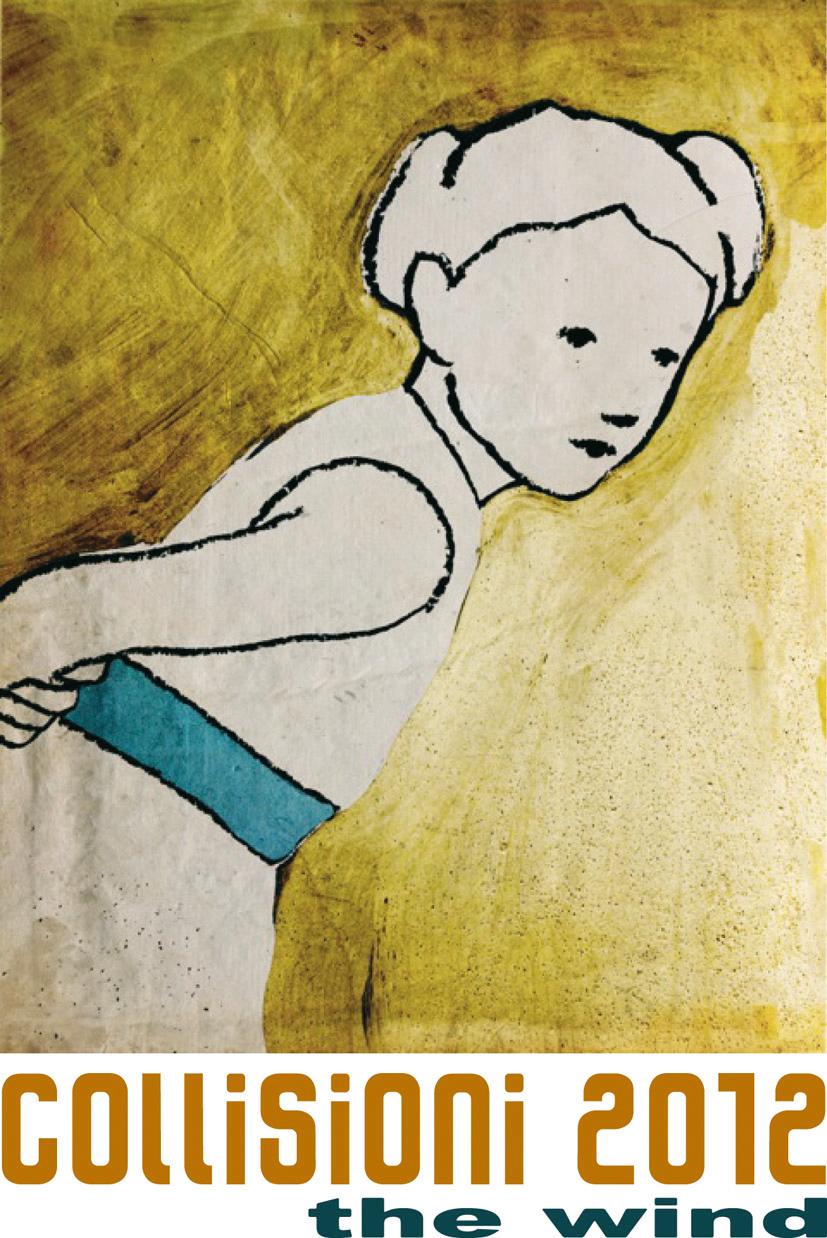logo collisioni 2012 realizzato da Valerio Berruti. Courtesy Collisioni 2012