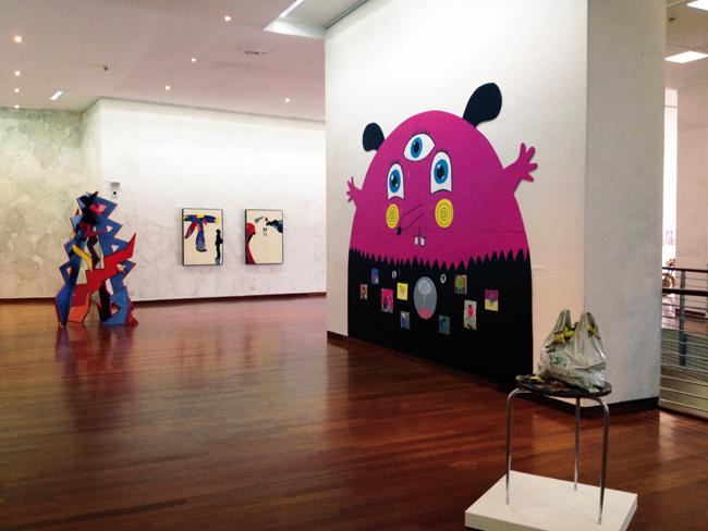 Veduta della mostra POPism alla Fondazione Michetti, Francavilla Al Mare (CH)