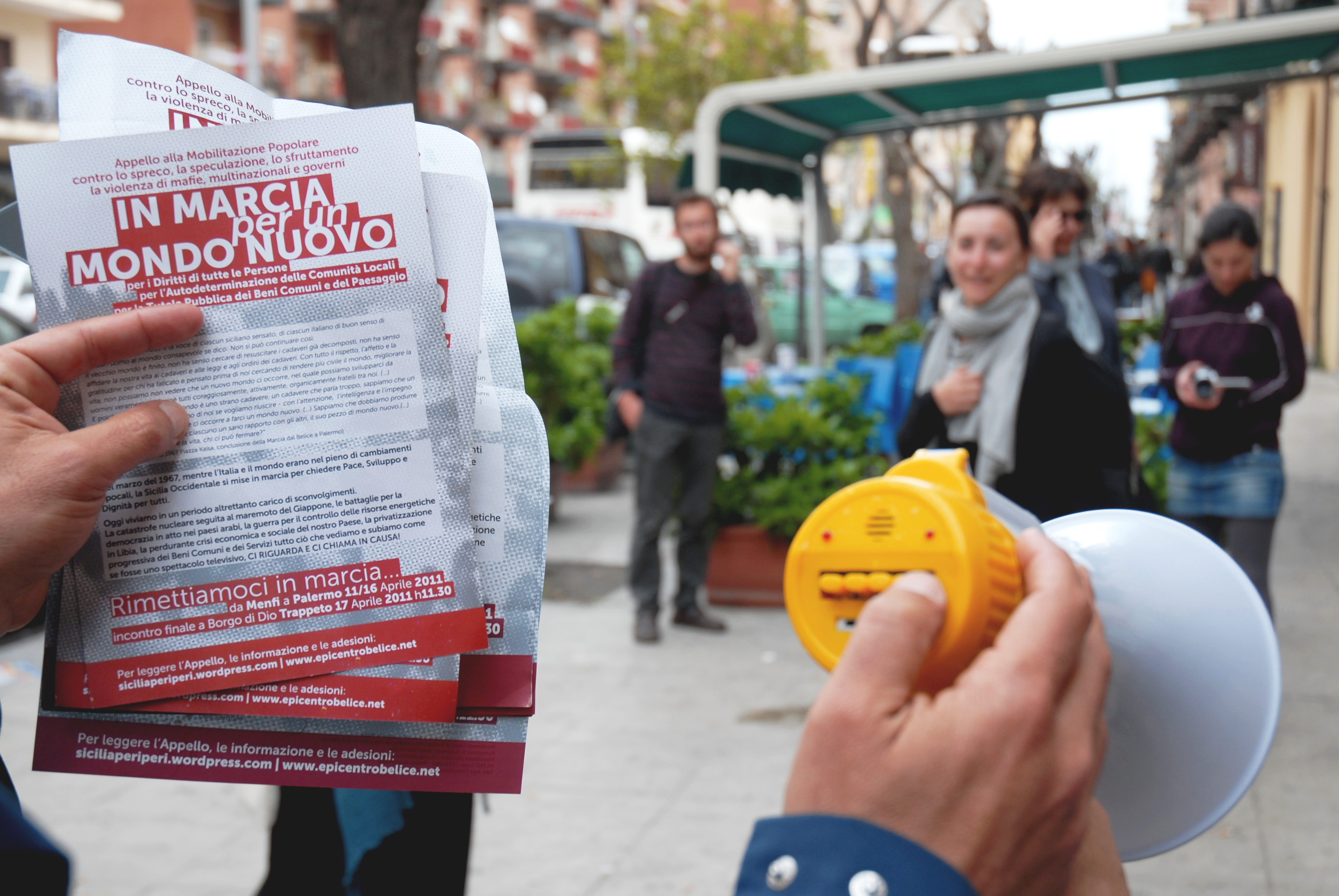 Diritti a Sud - Giulia Fiocca, ...siamo in marcia per un mondo nuovo, Palermo