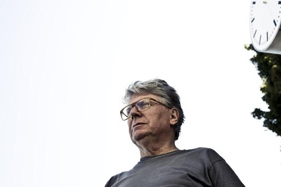 Roman Signer, Horloge, Fondazione Zegna, foto: Demian Dupuis