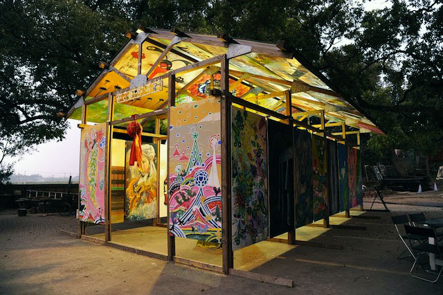 Formosa Wall Painting Group, Bywood Project, 2012