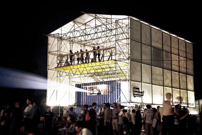 Milano Film Festival 2011, Parco sempione. Courtesy Delfino Sisto Legnani