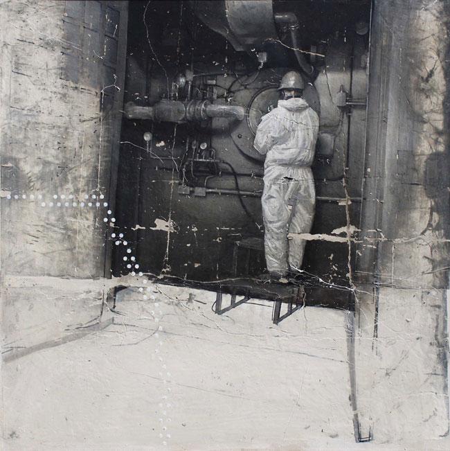 Aleifar kanon 8, 2012, cm 100x100