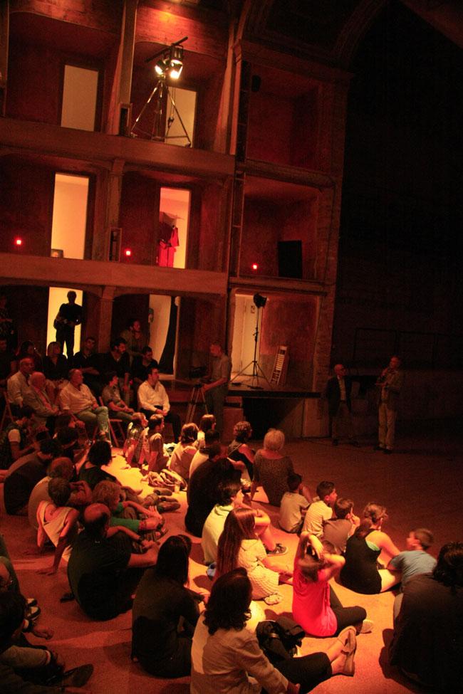 La notte delle lucciole teatro Garibaldi Palermo. Foto di Walter Nania