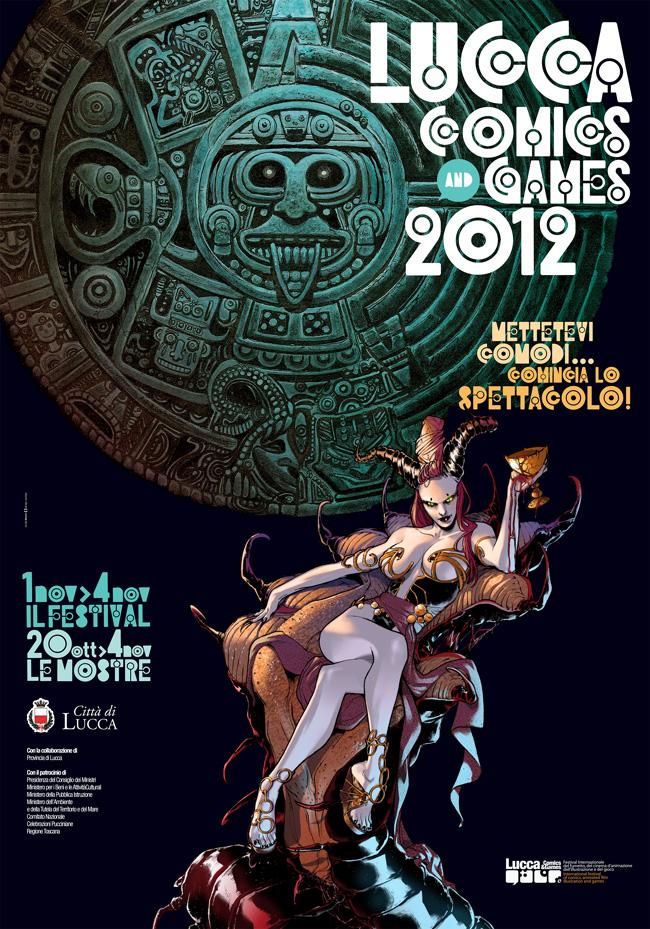 Lucca Comics & Games 2012, manifesto