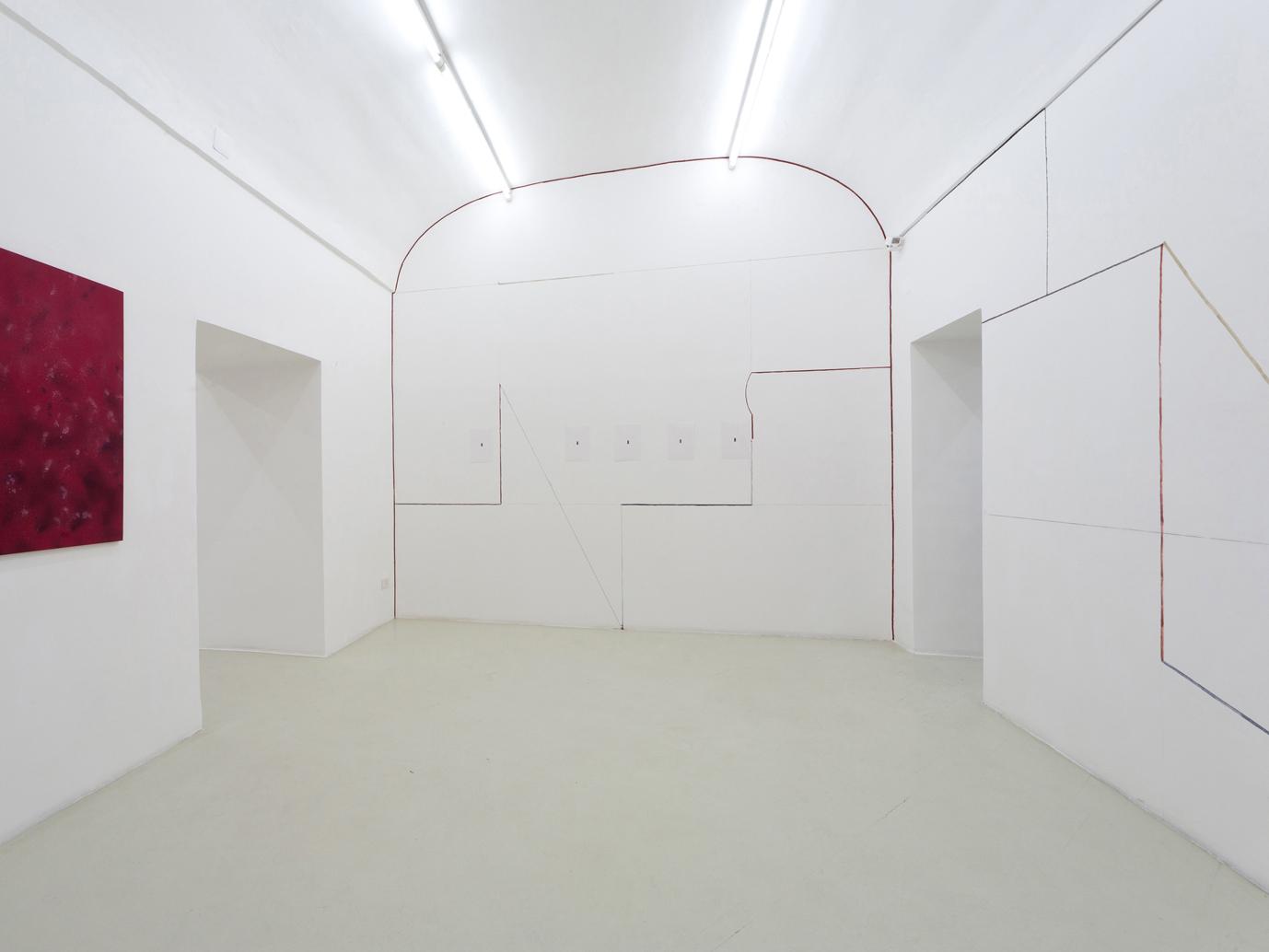 transition and duration, 2012, veduta della mostra, courtesy Galleria Umberto Di Marino, Napoli, Italy